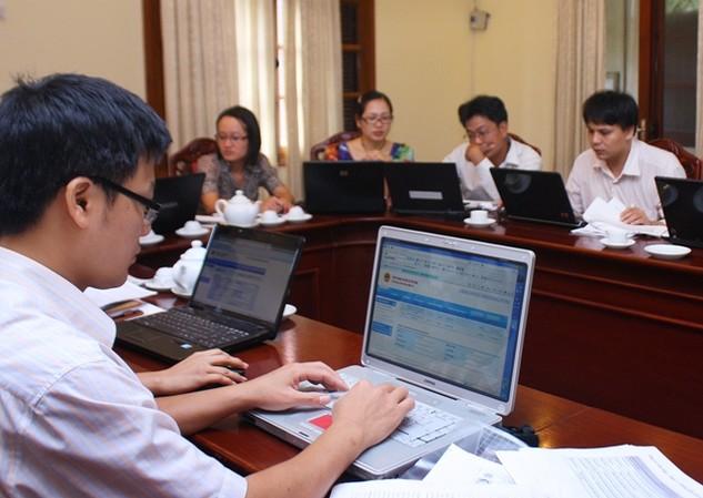 NHNN đề nghị Cục Quản lý đấu thầu tổ chức các khóa đào tạo chuyên sâu về đấu thầu qua mạng. Ảnh Internet