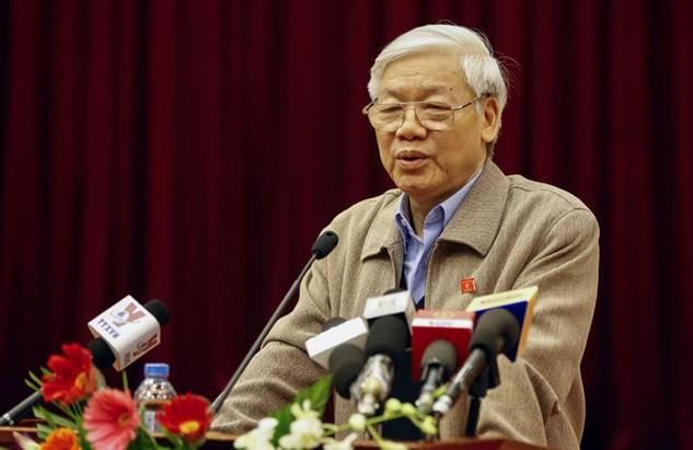 Tổng bí thư Nguyễn Phú Trọng - Ảnh: Ngọc Thắng