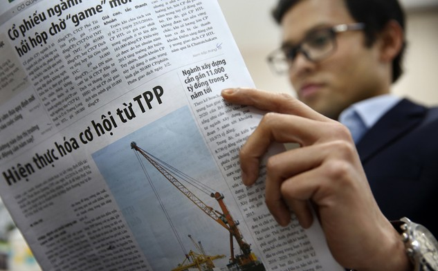 Cơ quan quản lý nhà nước, hiệp hội DN và cơ quan thông tin đại chúng phải cùng vào cuộc tuyên truyền về TPP. Ảnh: Lê Tiên