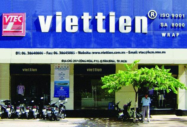 Việt Tiến là thương hiệu khá nổi tiếng trong ngành dệt may