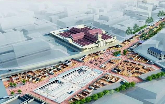 """Hình ảnh đồ họa dự án """"Khu phố ngầm Nhà ga trung tâm Bến Thành - Nhà ga Nhà hát Thành phố"""". Ảnh: Ban quản lý đường sắt đô thị TP.HCM."""