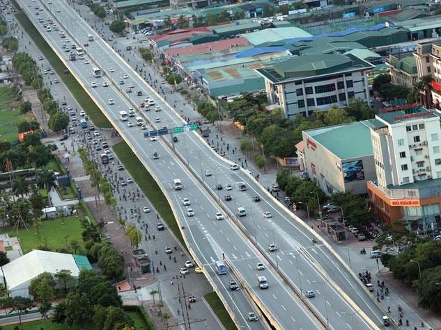 Các tuyến đường vành đai giúp kết nối các chuỗi đô thị vệ tinh và giảm bớt áp lực cho giao thông Thủ đô