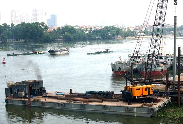 32 dự án về cảng, bến thủy nội địa hiện chưa có nhà đầu tư quan tâm. Ảnh: Lê Tiên