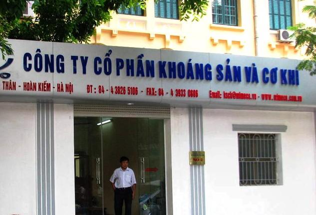 Công ty CP Khoáng sản và Cơ khí đang nợ thuế số tiền 8,487 tỷ đồng. Ảnh: LTT