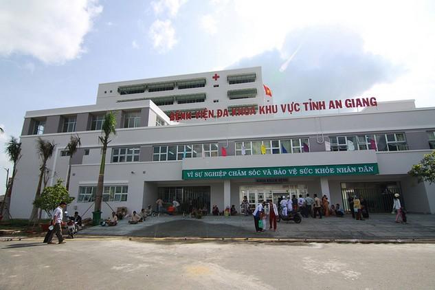 Bệnh viện đa khoa Châu Đốc - An Giang