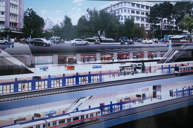 Dự kiến, UBND TP.HCM sẽ phê duyệt điều chỉnh dự án Metro số 2 trong Quý IV/2016. Ảnh: Tiên Giang