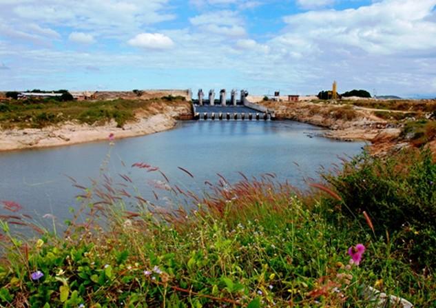 Hồ chứa nước Sông Dinh 3 (Ảnh: www.binhthuan.gov.vn)
