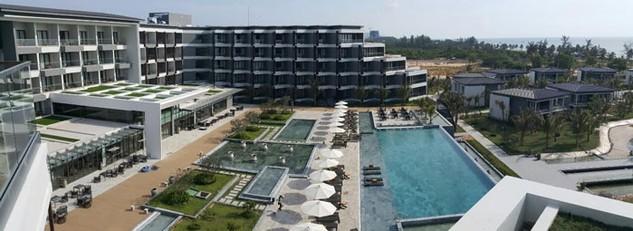 Một góc Dự án Sonasea Villas & Resort tại Phú Quốc. Ảnh: NC