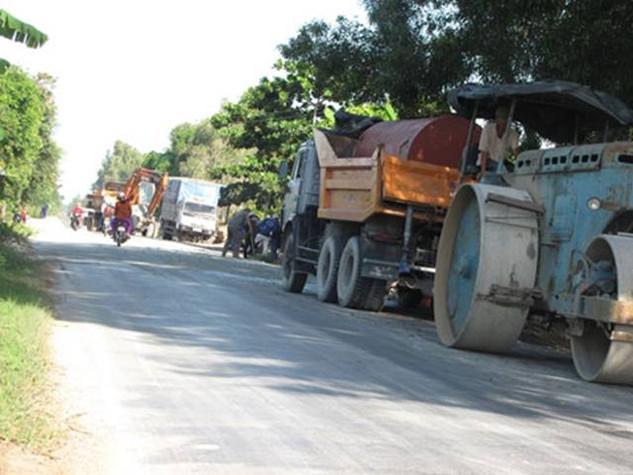 Quốc lộ 62, đoạn qua tỉnh Long An.