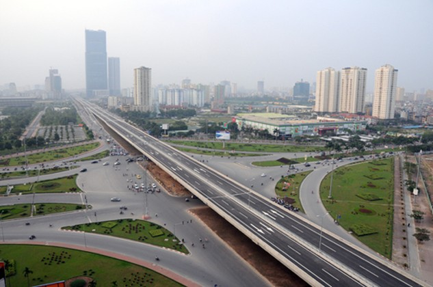 Dự án đầu tư xây dựng cầu cạn trên cao đoạn Mai Dịch - Nam Thăng Long được Bộ Giao thông vận tải phê duyệt vào 9/2014 dự kiến sẽ khởi công vào tháng 7/2016.
