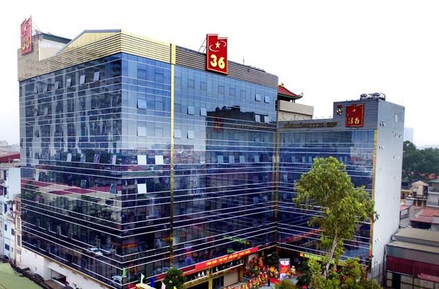 Công ty mẹ - Tổng công ty 36 đang quản lý 6 mảnh đất với tổng diện tích là 31.882,7 m2. Ảnh: NC