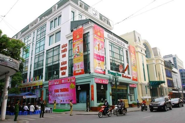 Trun sở Công ty TNHH MTV Sách Việt Nam tại 44 Tràng Tiền, Hà Nội