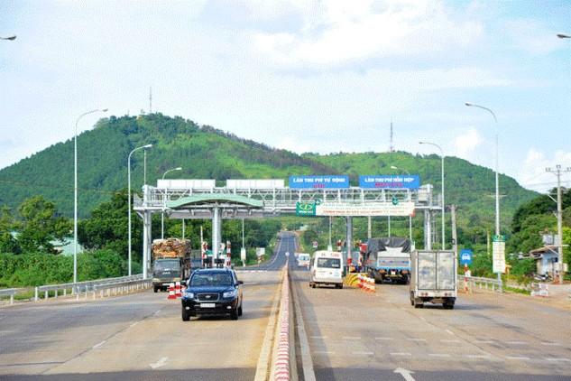 Một trạm thu phí hoàn vốn cho Dự án nâng cấp, mở rộng đường Hồ Chí Minh (Quốc lộ 14) đoạn Pleiku – cầu 110
