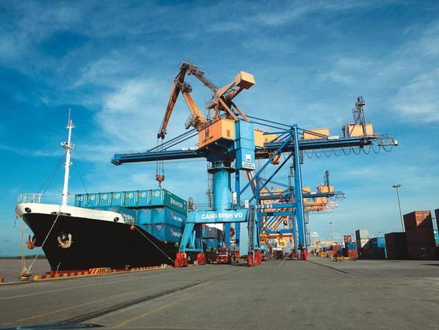 Quy hoạch cảng Đình Vũ gồm 10 bến, trong đó Vinalines Đình Vũ đầu tư bến 8, 9, 10. Ảnh: Chí Cường
