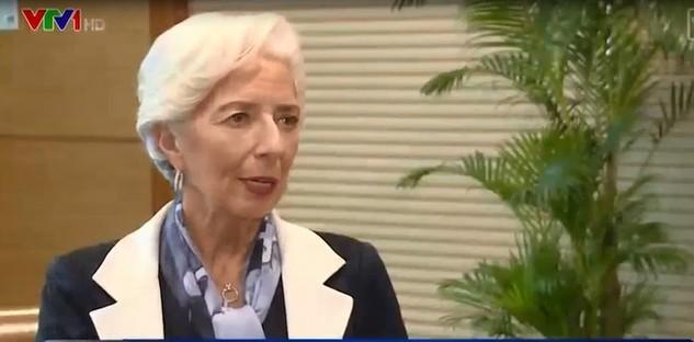 Bà Christine Lagarde - Tổng Giám đốc Quỹ Tiền tệ Quốc tế (IMF)