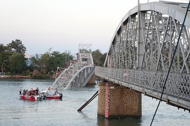 Tiến độ thực hiện xây dựng mới cầu Ghềnh dự kiến trong thời gian 3,5 tháng kể từ khi công tác trục vớt dầm, thanh thải lòng sông kết thúc