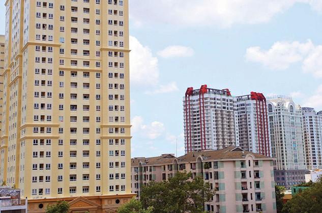 Mỗi năm, tại TP. HCM có hàng chục chung cư lớn đưa vào sử dụng. ảnh: Lê Toàn
