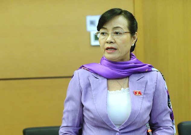 Đại biểu Nguyễn Thị Quyết Tâm. Ảnh: Giang Huy