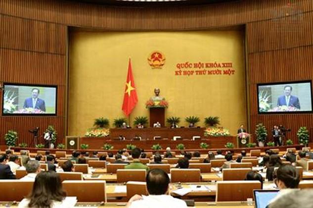 Quốc hội thảo luận kế hoạch phát triển KT-XH