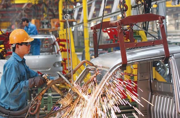 Ngành công nghiệp chế biến chế tạo chỉ tăng 7,9% trong quý I, kém xa cùng kỳ năm ngoái