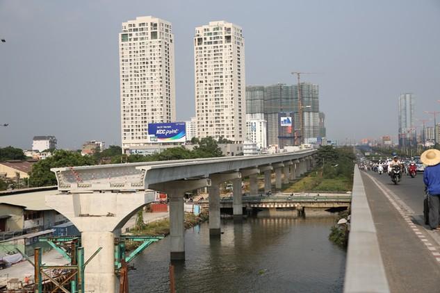Nhiều dự án đường sắt đô thị TP.HCM chưa được phê duyệt điều chỉnh tổng mức đầu tư. Ảnh: Lê Tiên