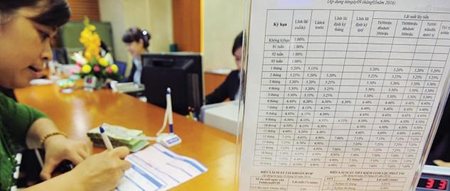 Diễn biến lãi suất tiền đồng bắt đầu có chiều hướng tăng lên