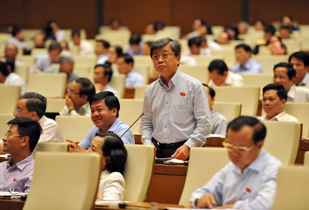 Đại biểu Quốc hội cho rằng nhiều mặt hoạt động của Chủ tịch nước chưa thể hiện rõ quyền lực của người đứng đầu Nhà nước. Ảnh: Ngọc Thắng