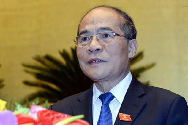 Chủ tịch Quốc hội khóa 13 Nguyễn Sinh Hùng.