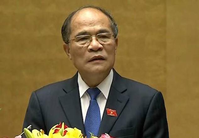 Chủ tịch Nguyễn Sinh Hùng
