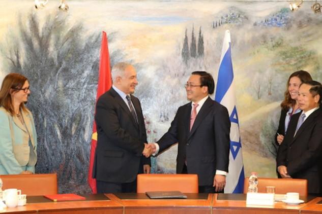 Hiệp định Thương mại tự do Việt Nam-Israel được khởi động đàm phán vào cuối năm 2015.