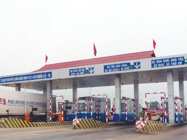 Trạm thu phí Quán Hàu của Tập đoàn Trường Thịnh