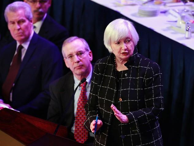"""Janet Yellen: """"Fed sẽ không vội vàng tăng lãi suất"""""""