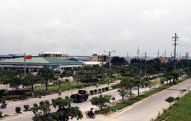 KCN Quang Minh nằm trên huyện Mê Linh, Vĩnh Phúc