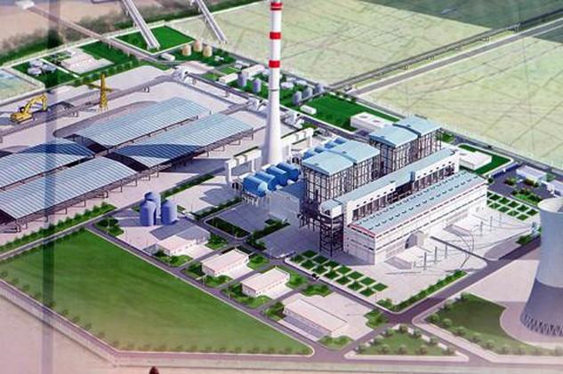 Phối cảnh Dự án Nhiệt điện BOT Hải Dương