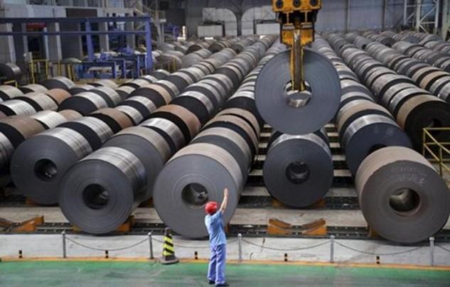 Trung Quốc hiện sản xuất một nửa số thép trên thế giới. Ảnh:Reuters