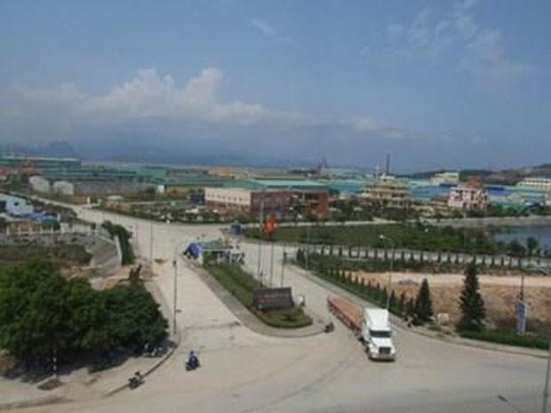 Dự án Khu công nghiệp Cẩm Điền – Lương Điền. Ảnh: TTXVN