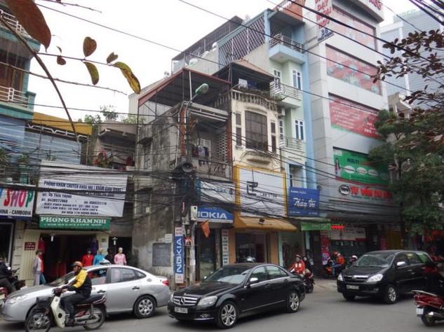 Tổng diện tích đất nghiên cứu thiết kế đô thị hai bên tuyến phố Thái Thịnh khoảng 12,08ha