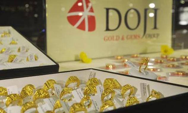 Giá vàng giảm trong tuần.