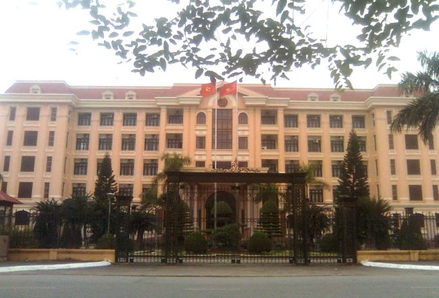 Trụ sở UBND tỉnh Nam Định