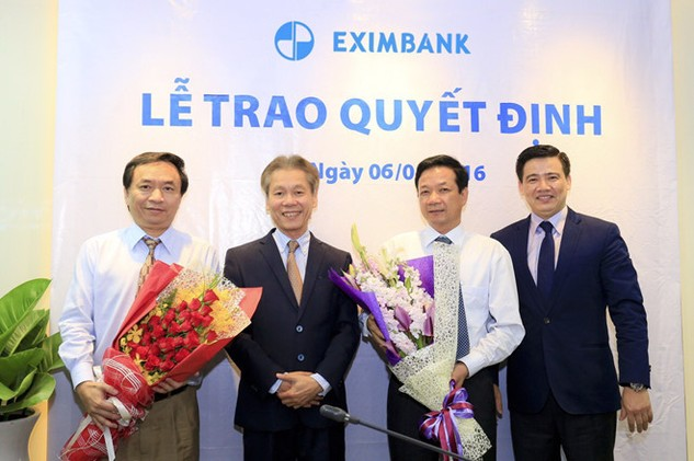 Eximbank trao quyết định bổ nhiệm CEO cho ông Lê Văn Quyết