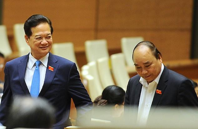 Phó thủ tướng Nguyễn Xuân Phúc là ứng viên duy nhất được đề cử vào chức vụ Thủ tướng (ảnh: Giang Huy - Vnexpress)