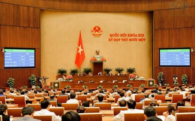 Quốc hội đã biểu quyết thông qua Luật Dược (sửa đổi).