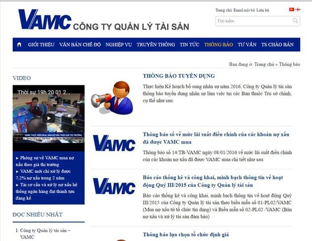 VAMC vẫn chưa phải là giải pháp xử lý nợ xấu một cách triệt để. Ảnh: NC st