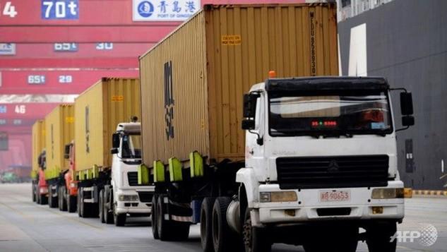 WTO dự đoán lưu lượng các container tới các cảng lớn trên thế giới sẽ tăng. Nguồn: AFP