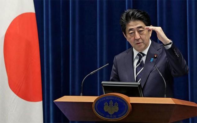 Thủ tướng Nhật Bản Shinzo Abe - Ảnh: Bloomberg.