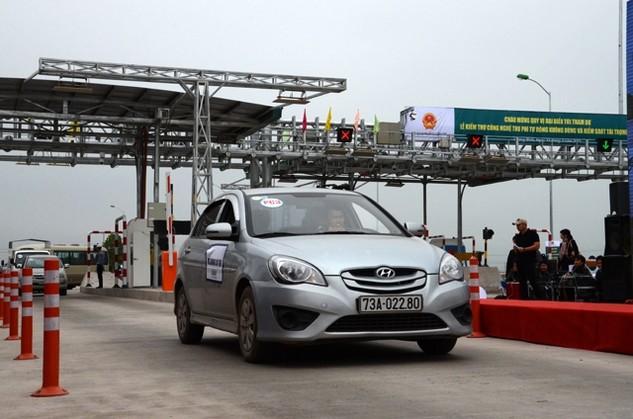 Trạm thu phí Quảng Bình đã được Nhà đầu tư TASCO xây dựng và đưa vào vận hành