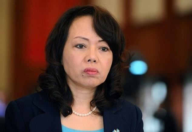 Bộ trưởng Y tế Nguyễn Thị Kim Tiến. Ảnh:Nam Phương.