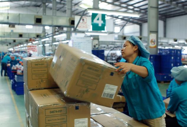 DN Việt Nam tham gia vào chuỗi cung ứng tốt nhưng chuỗi giá trị chưa cao. Ảnh: Lê Tiên