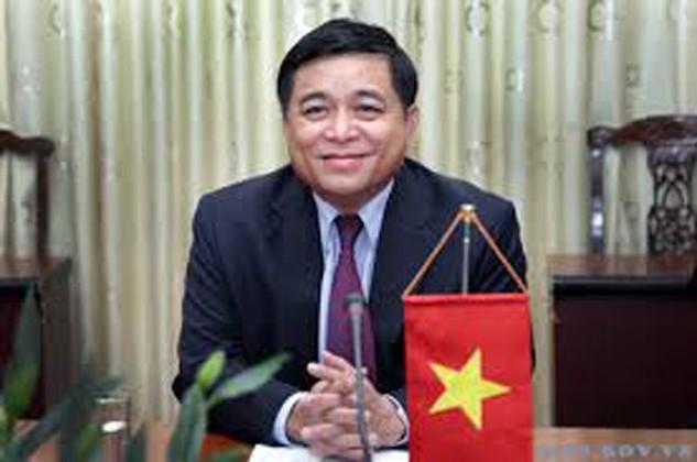 Tân Bộ trưởng Bộ Kế hoạch và Đầu tư Nguyễn Chí Dũng