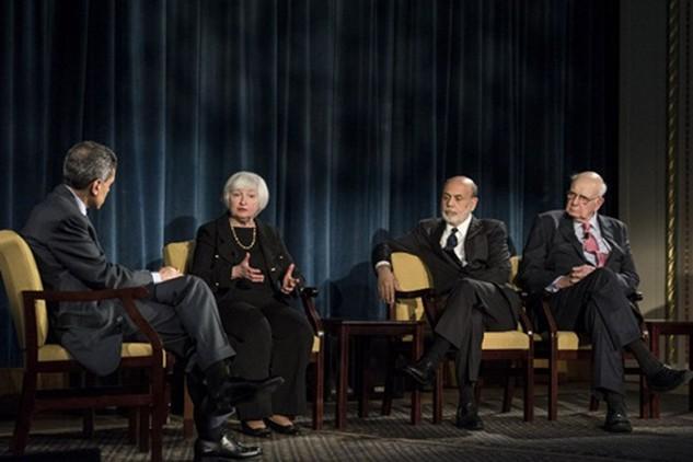 Các chủ tịch FED cho rằng vị trí của mình không hề thần thánh như người ta tưởng. Ảnh: AFP